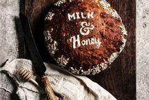 Brot / Bread / Selber Brot backen, vom Sauerteig Brot bis hin zum schnellen Körnerbrot - gesunde und köstliche Rezepte!