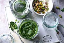 Dips / Pesto / Herzhafte Aufstriche in all ihren Ausprägungen, vom selbstgemachten Pesto bis hin zu Hummus und Dips - die besten Rezepte!