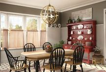 My Dream Option {M} Country Dining Room / Looking to design a warm and cozy place that makes you feel right at home? We've created Option {M} Country to help you feel like you've achieved the perfect comfortable space without actually moving to the countryside. Pin your own dream Option {M} Country space for your chance to win a luxury prize. Find more details and contest rules at www.Metrie.com/Contest. Happy Pinning!