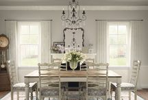 My Dream Option {M} Shabby Chic Dining Room / Life isn't perfect and that's perfectly fine with us when it comes to Option {M} Shabby Chic! Whether it's thrift store finds or distressed furniture, life is what gives this decor style character. Which Shabby Chic elements speak to you? Pin your own dreamy Option {M} Shabby Chic space for your chance to win a gorgeous prize. Enter the contest at www.Metrie.com/Contest. Good luck!