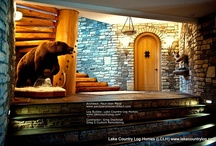 Custom Handcrafted Spiral Log Stairs / Custom Handcrafted Spiral Log Stairs