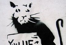 "Banksy / ""Not every piece of street art is Banksy."""