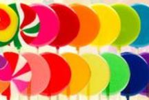 LolliPics Colors and Flavors / Choose your color and flavor and then upload your own photo for the center! / by LolliPics