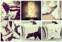 Interior Textiles / A selection of textile prints for home interior products