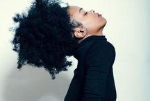 Crowning glory / Beautiful black hair