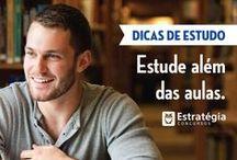 Dicas de Estudo / Para quem quer passar em concursos públicos!