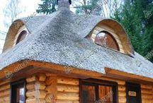 Thatch sauna
