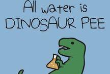 My Funny T-shirts / Dinosaurs, unicorns, science and more! http://jezkemp.redbubble.com / by Jez Kemp