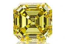 Fancy Yellow Diamonds / Natural fancy color yellow diamonds. rare and expensive ones!