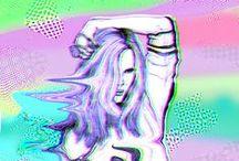 g l i t c h / glitch,  movement, distorsion