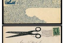 Mail art / Postal art, stamps...