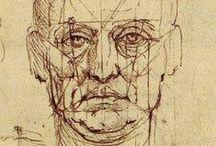 Leonardo Da Vinci / Leonardo Da Vinci drawings
