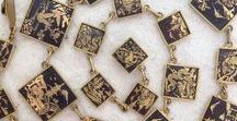 Vintage Art Deco Necklaces / Stylish neckwear from the 1920's/30's!