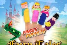 Fairy Tale Finger Puppets / Straight from the fairy tales to your fingers.
