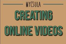 Creating Online Videos / With so many tools available out there, it is nice to find software that works online and is available to many individuals. By watching this online training course, users will learn how to use Screenr and Windows Live Movie Maker to create online videos. As the title says, this course will cover only the basics; and thus, is suitable for anyone without or minimal knowledge of online video production. / by myCalStateLA