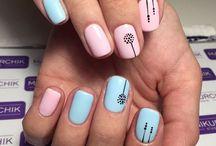 Cute simple nail art