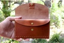지갑 / leather wallet