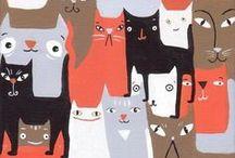 Tierisches in Illustrationen / Fischdarstellungen, Fische in Bildender Kunst und Illustration