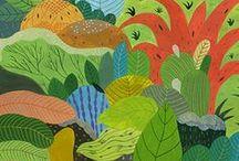 Pflanzliches in Illustrationen