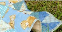 Baby quilt blanket / Baby quilt blanket. Soft and warm. Suitable for babies for a restful sleep. Natural cotton, hypoallergenic filler.