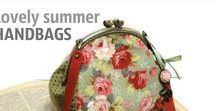 Lovely summer handbags / Very useful small bags, great design, good quality.  I am in awe of the Lovely summer handbags. Delighted!