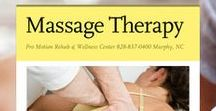 Massage Therapy / ProMotionRehab.com in Murphy, NC @ 828-837-0400