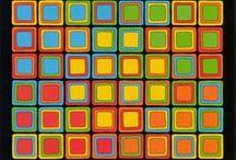 KlausCollagen: Farbquadrate