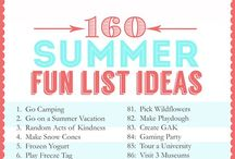 Fun things to do this summer. / by Carrie Smith