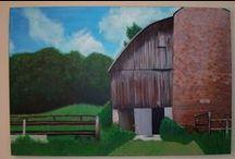My paintings / Original Acrylic Paintings by Sierra Benson / by Sierra Benson