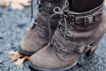 beauty in boots. / [ strapping, leather, colorful, creamy, perfectly you, boots. ]