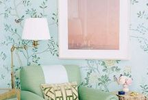 wallpaper + color / by stacy graves | stacy graves design