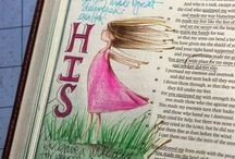 Bible Journaling / This is my inspiration for bible journaling.  / by Regina P.