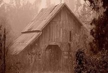 ~*~ Barns ~ Mills ~ Cabins ~ Cottages ~ One Room School Houses / Barns ~ Mills ~ Cabins ~ Cottages ~ One Room School Houses. Enjoy! / by Kellena M Harrington