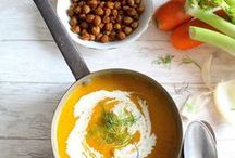 Soups & creams • Potages & soupes (mine)