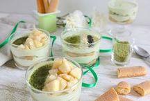 Desserts in a jar • Desserts en verrines (mine)