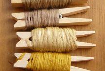 manualidades lana