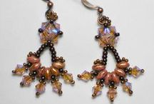 ~*~ Beading DIY ~ Earrings /  Earring Making Tutorials! Some of these will need translated once you go to the site. I use Google Chrome browser, and Google Translate ~ Works Great! Enjoy!   / by Kellena M Harrington