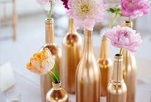 Hochzeit gold