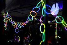 Glow stick games