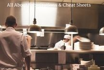 All About Substitutions & Cheat Sheets