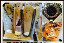 Trunk Shows / #esbedesigns #trunkshows #parties #jewelry