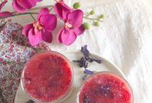 Flower recipes / Les fleurs en cuisine (mine)