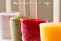 Homemade Popsicles (and other frozen treats)