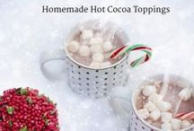 Homemade Hot Cocoa Toppings
