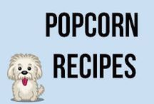 Popcorn Recipes / From caramel corn to more complex chocolate and nutty goodness - these popcorn recipes are perfect for any movie night!