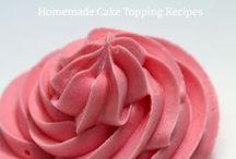 Homemade Cake Toppings