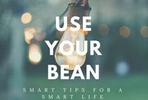 Use Your Bean / Smart tips for each day of the week.