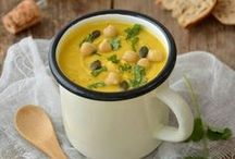 Soupes & potages • Soup recipes