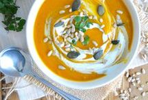 Potimarrons et courges en cuisine • Pumpkin and squash recipes