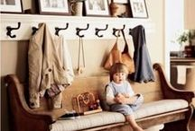 Hallway & Muddroom Ideas / Ideas to use in my rustic home in making.